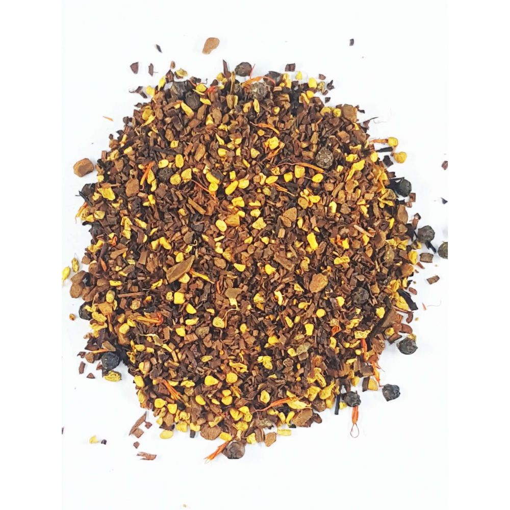 Golden Chai Turmeric Honeybush CBD Infused Tea Chai 150 mg 1.5 oz. (42.5 g)