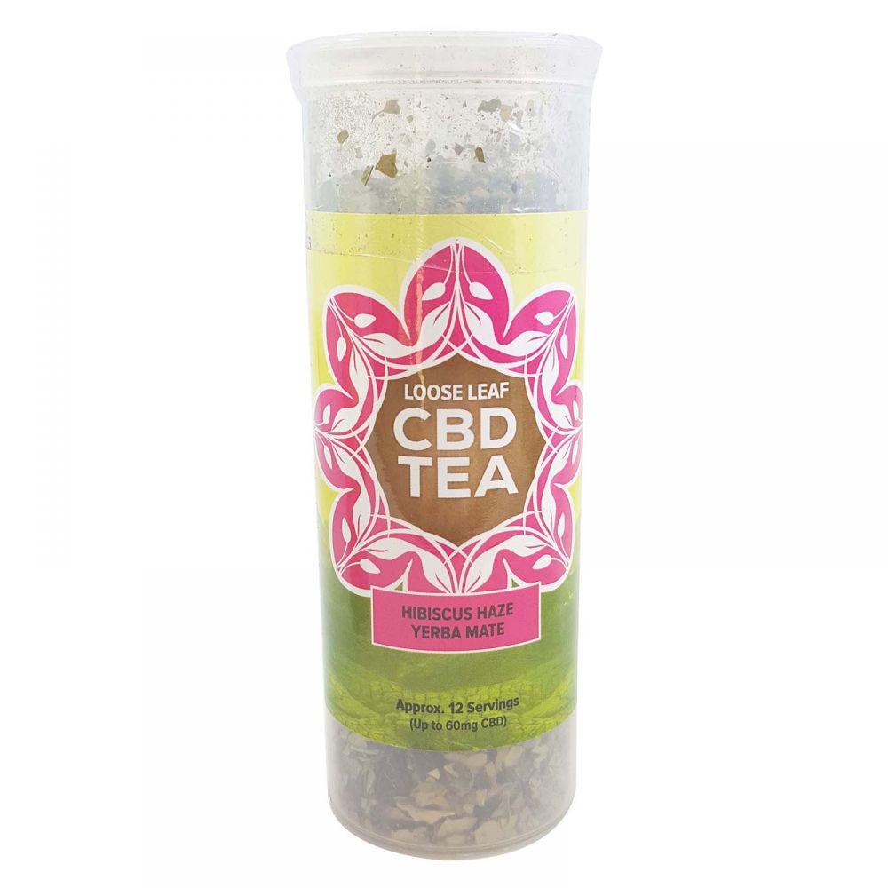 Hibiscus Haze Organic Yerba Mate CBD Infused Tea Berry 60 mg 1.5 oz. (42.5 g)