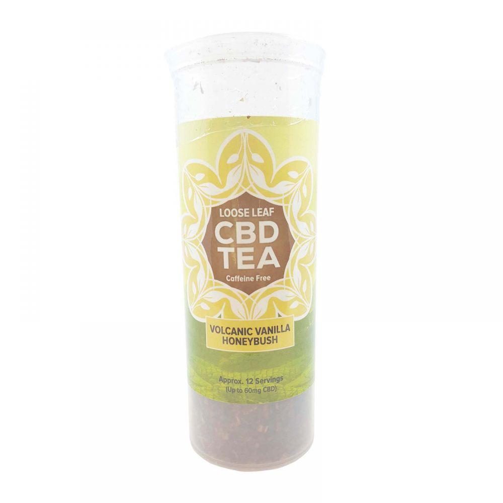 Volcanic Vanilla Organic Honeybush CBD Infused Tea Vanilla 60 mg 1.5 oz. (42.5 g)