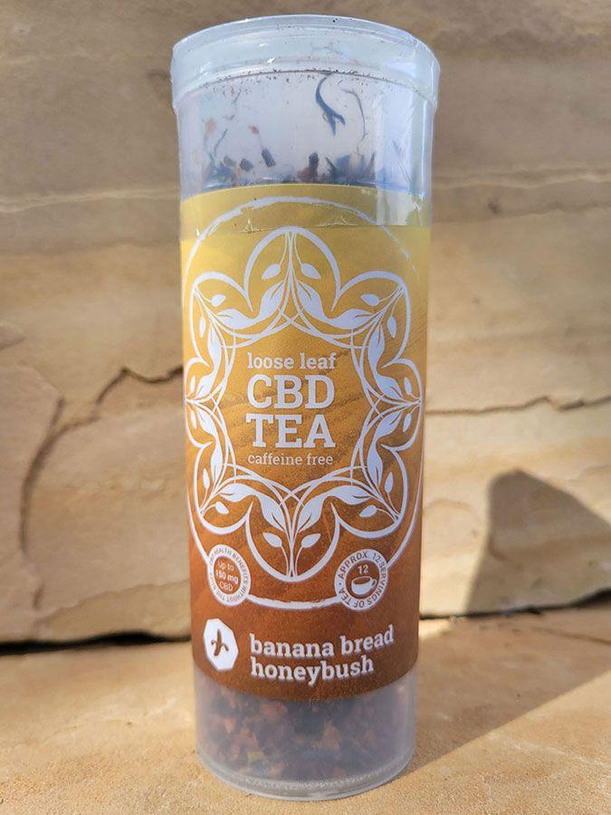 Banana Bread Organic Honeybush Tea 200 mg 1.5 oz. (42.5 g)