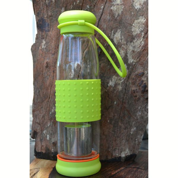 Tea Infuser Bottle Glass