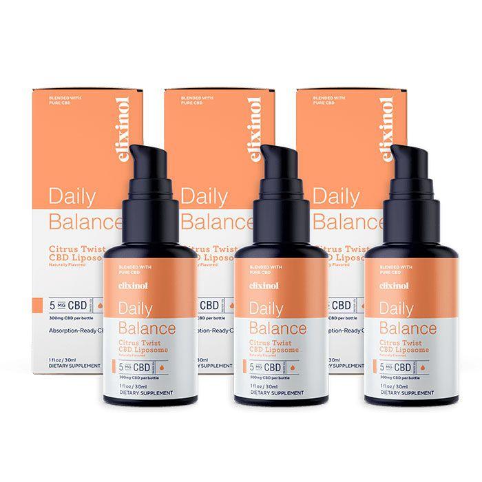 CBD Oil Liposomes Citrus Twist 300 mg 1 fl. oz. (30 mL)