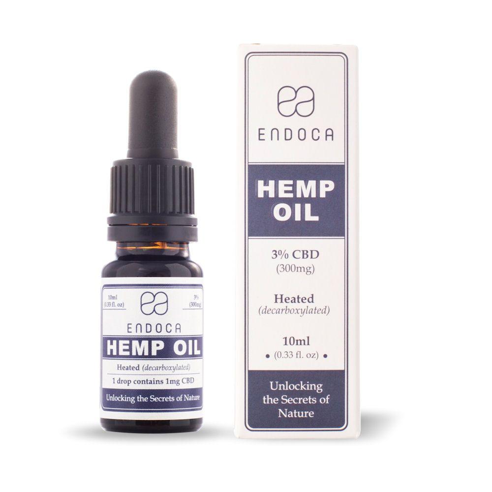 CBD Oil Natural Flavor 300 mg 0.33 fl. oz. (10 mL)