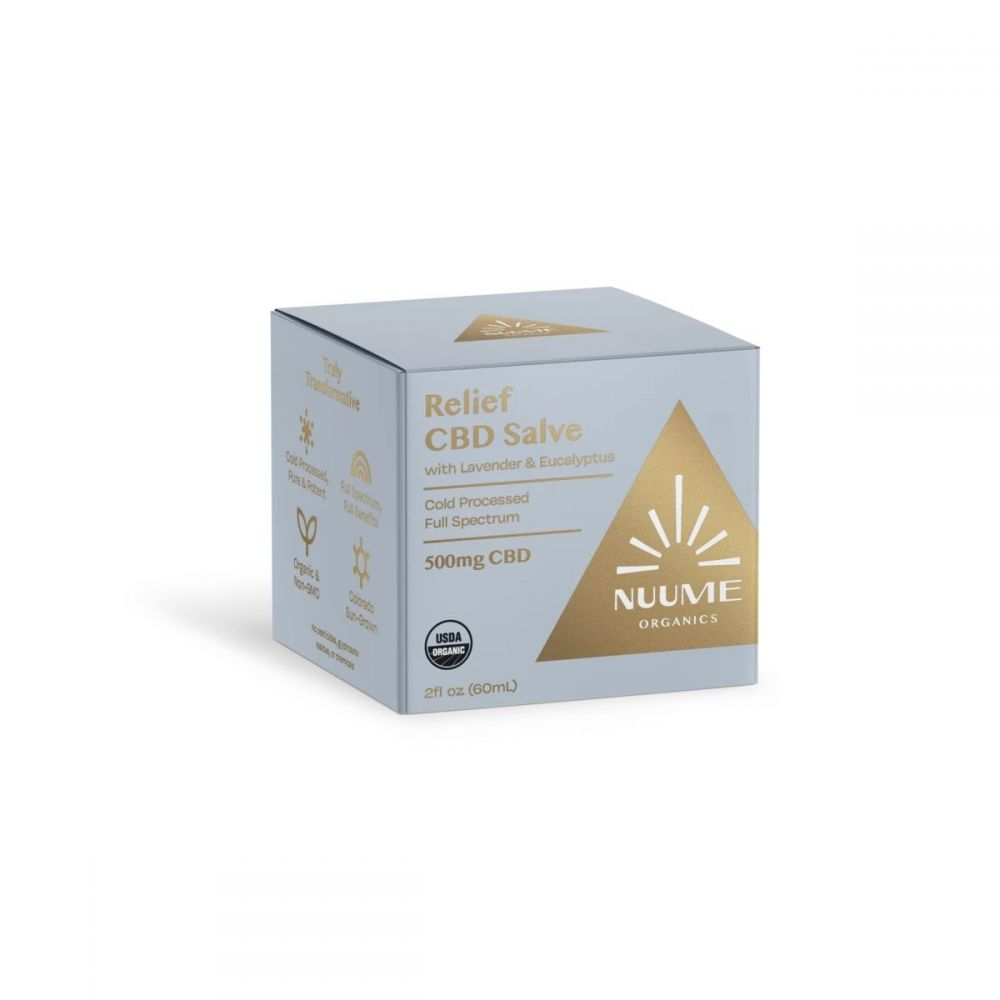 Relief CBD Salve Lavender 500 mg 2 fl. oz. (59 mL)