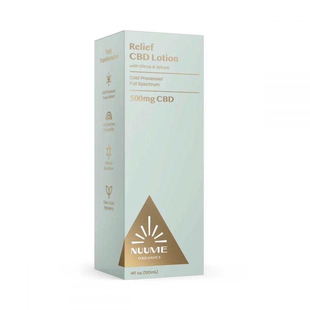 Relief CBD Lotion Citrus & Spruce 500 mg 4 fl. oz. (118 mL)