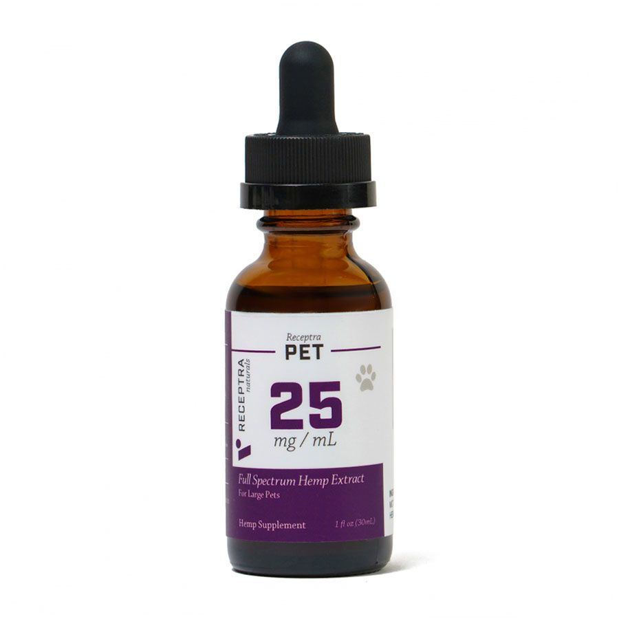 Pet 25 CBD Oil Natural Flavor 750 mg 1 fl. oz. (30 mL)