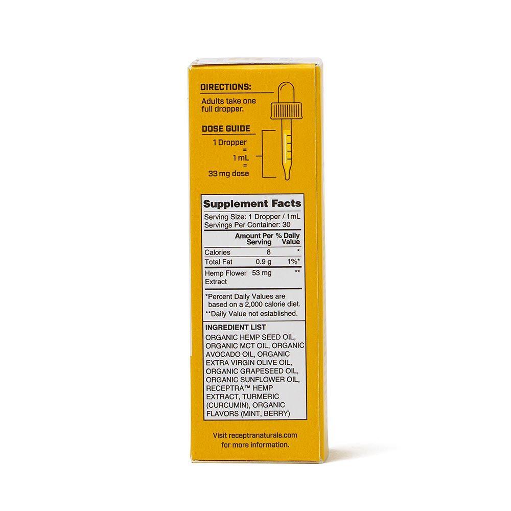 Serious Relief 33 CBD + Turmeric Berry 1,000 mg 1 fl. oz. (30 mL)