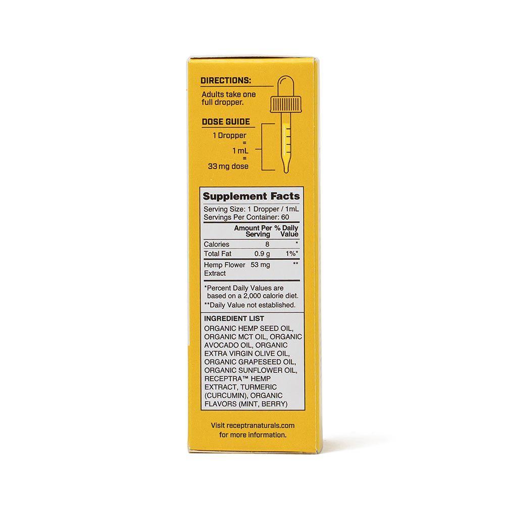 Serious Relief 33 CBD + Turmeric Berry 2,000 mg 2 fl. oz. (59 mL)