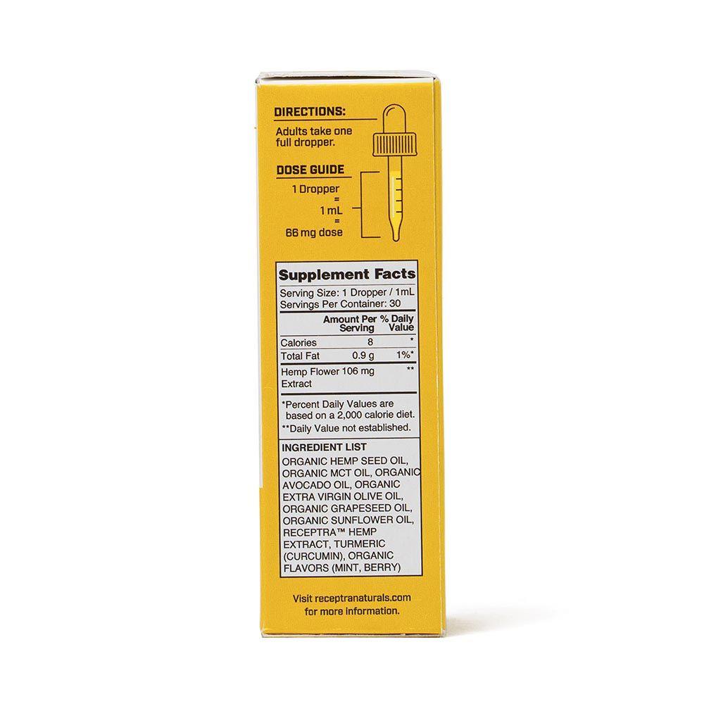 Serious Relief 66 CBD + Turmeric Berry 2,000 mg 1 fl. oz. (30 mL)