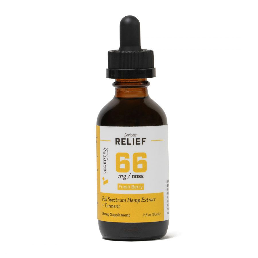 Serious Relief 66 CBD + Turmeric Berry 4,000 mg 2 fl. oz. (59 mL)