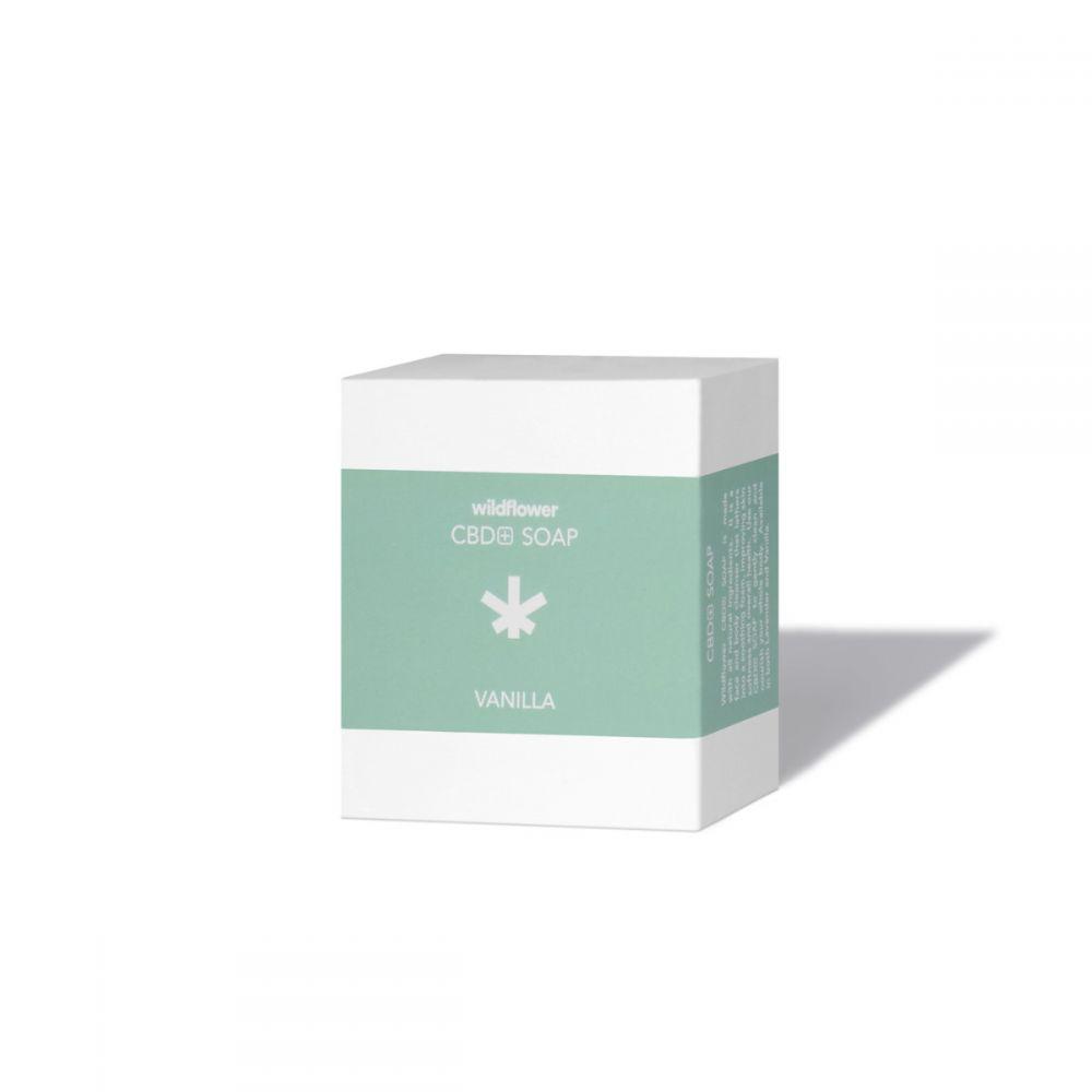 CBD+ Soap Vanilla 60 mg 3.2 oz. (90 g) 3-Pack