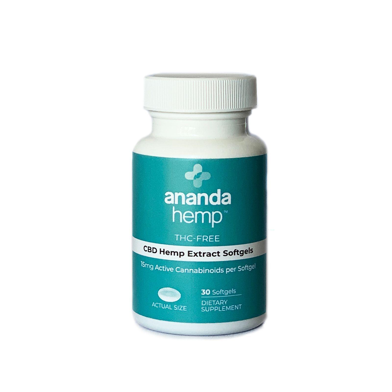 CBD Oil Broad-Spectrum THC-Free 450 mg 30 Softgels