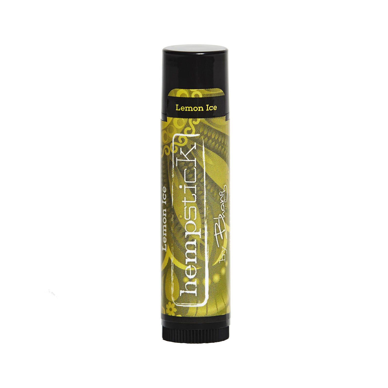 CBD-Infused Hempstick Lip Balm Lemon Ice 50 mg 0.15 oz. (4.2 g)