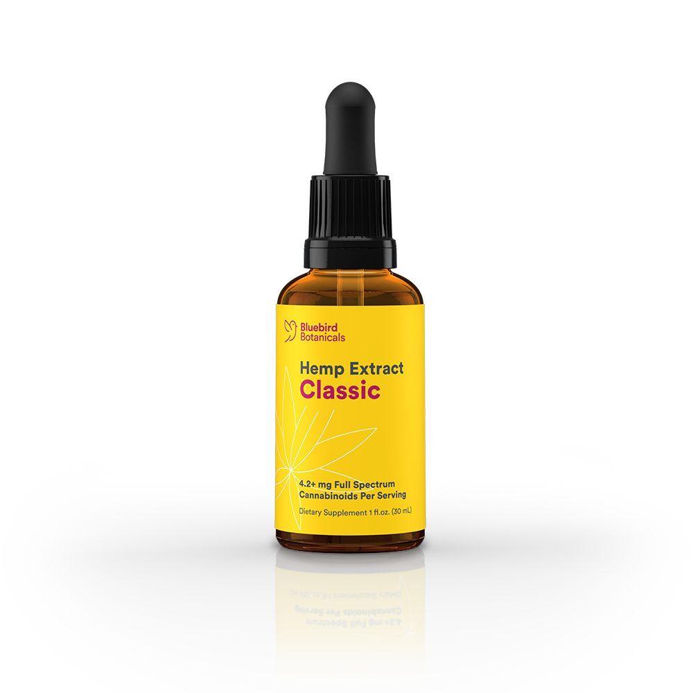 Hemp CBD Classic Natural Flavor 250 mg 1 fl. oz. (30 mL)