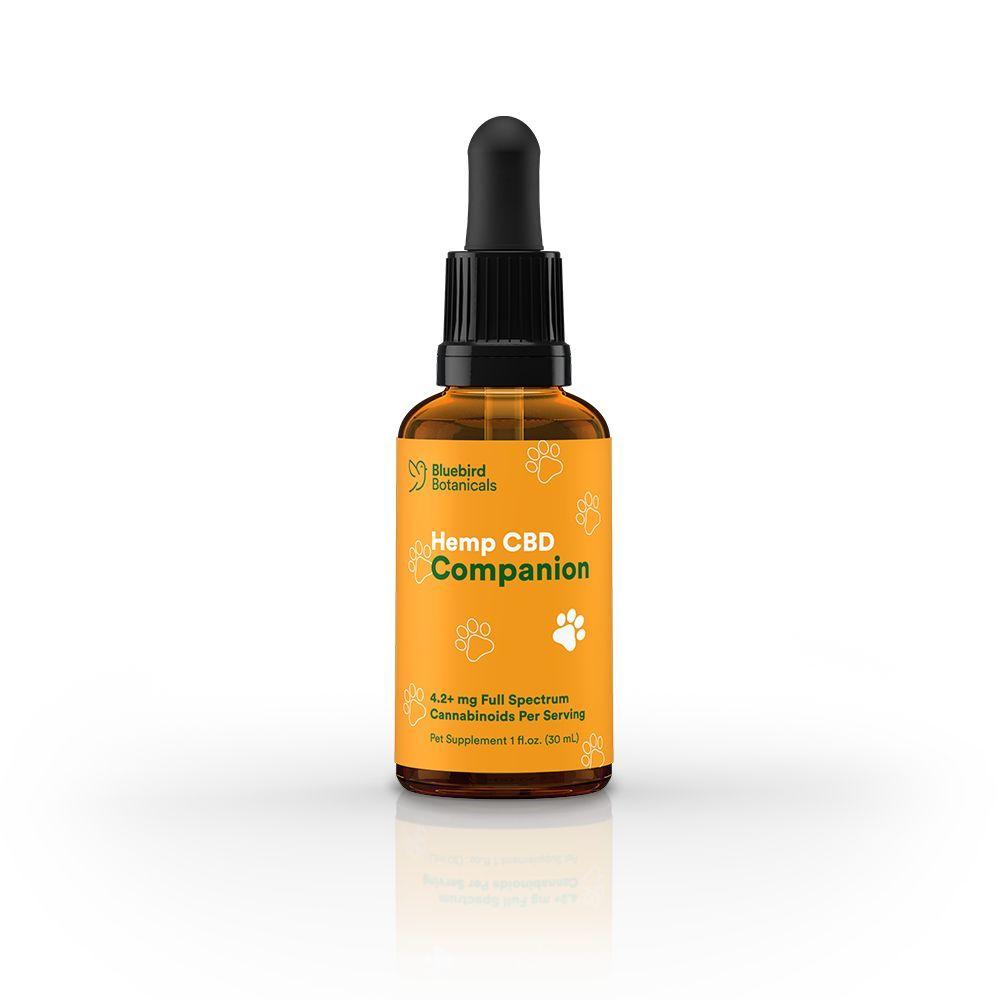Hemp CBD Companion Blend for Pets Natural Flavor 250 mg 1 fl. oz. (30 mL)