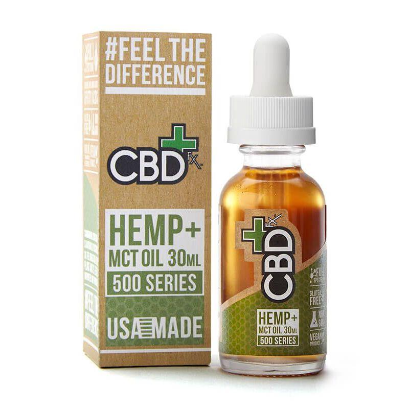 CBD Oil Tincture Natural Flavor 500 mg 1 fl. oz. (30 mL)