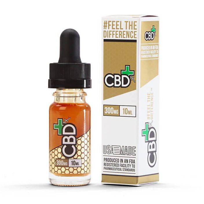 CBD Vape Oil Additive Natural Flavor 300 mg 0.33 fl. oz. (10 mL)