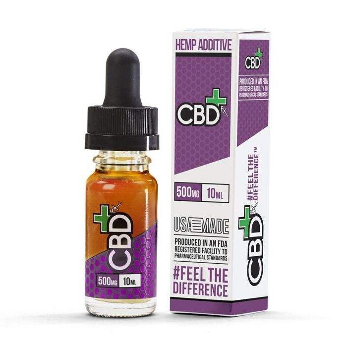 CBD Vape Oil Additive Natural Flavor 500 mg 0.33 fl. oz. (10 mL)