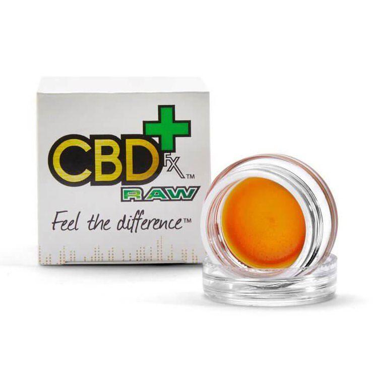 RAW Wax Dabs 30% CBD 12-Count Display Natural Flavor 3,600 mg 0.035 oz. (1 g)