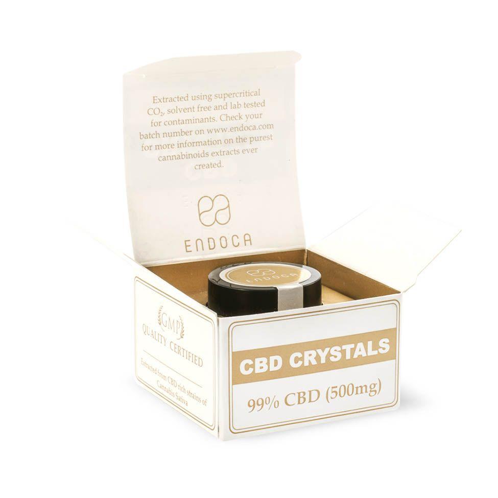CBD Crystals 99% Pure 500 mg 0.5 g