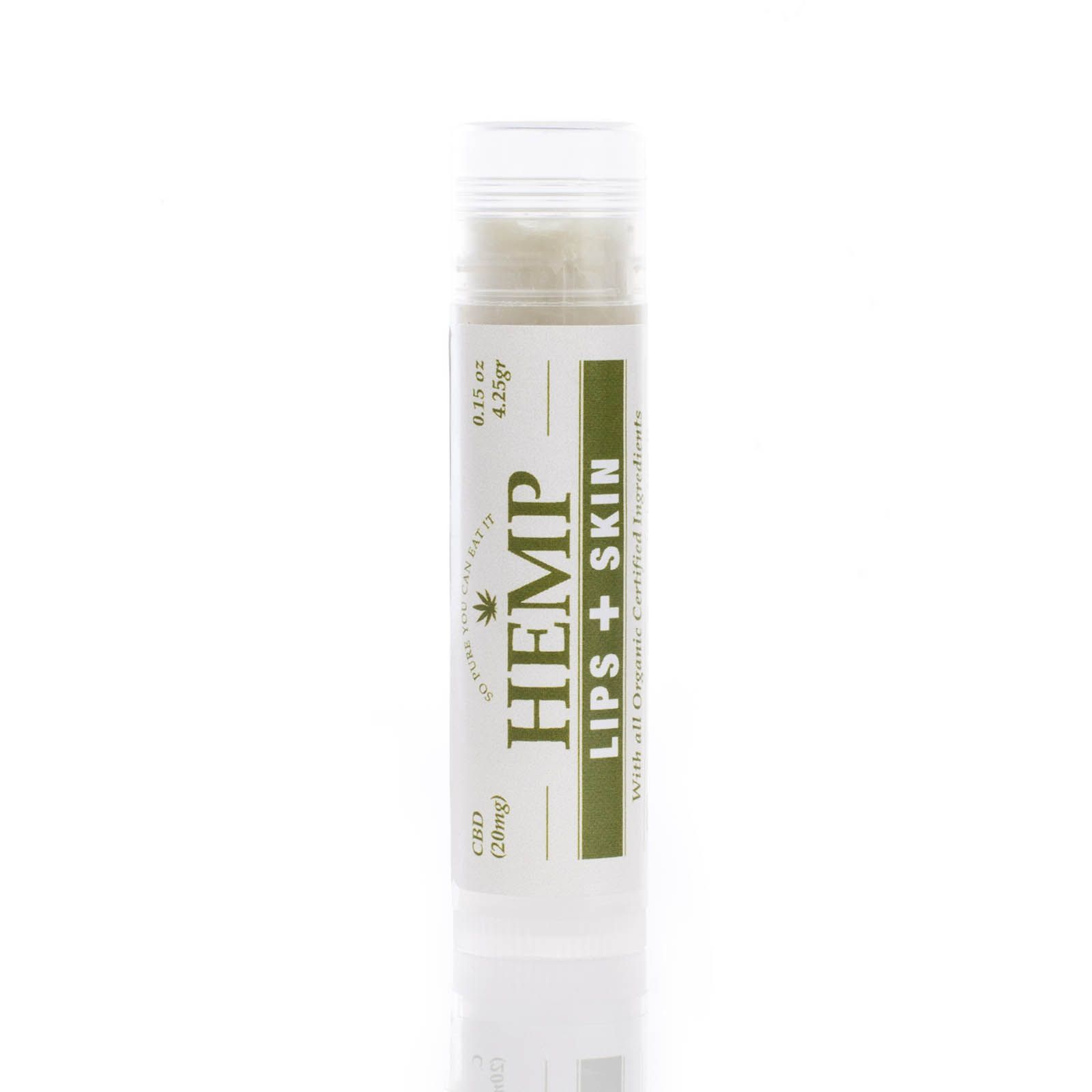 CBD Lip Balm 20 mg 0.15 oz. (4.3 g)