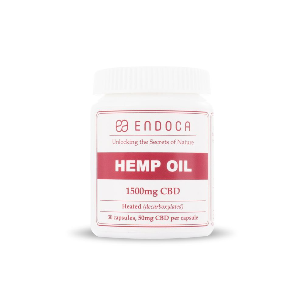CBD Oil 1,500 mg 30 Capsules
