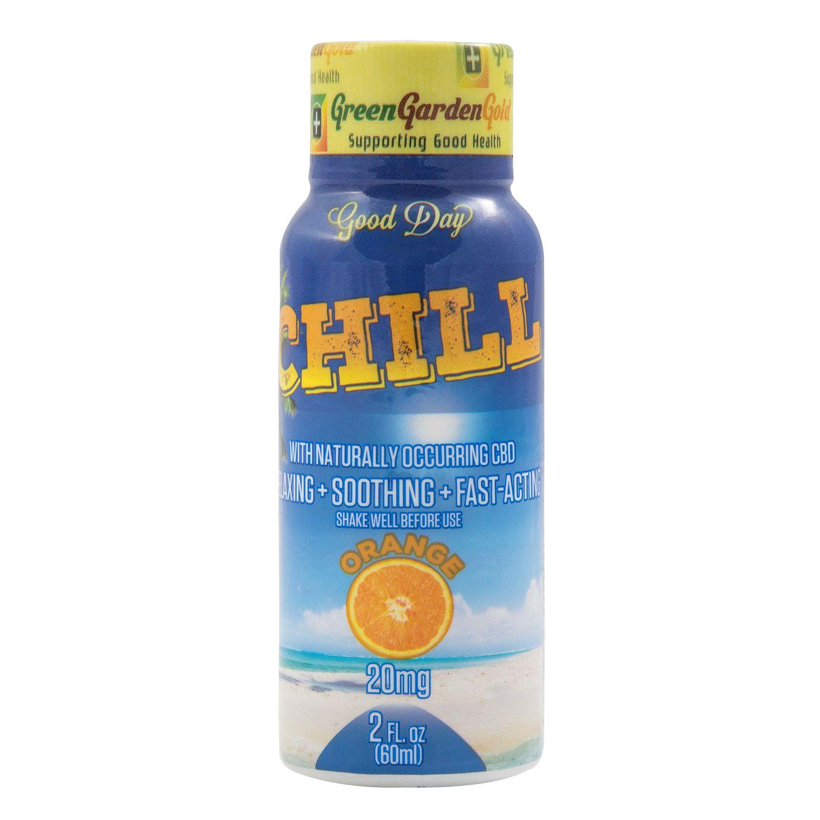 CBD Oil Concentrated Shot Orange 20 mg 2 fl. oz. (59 mL)
