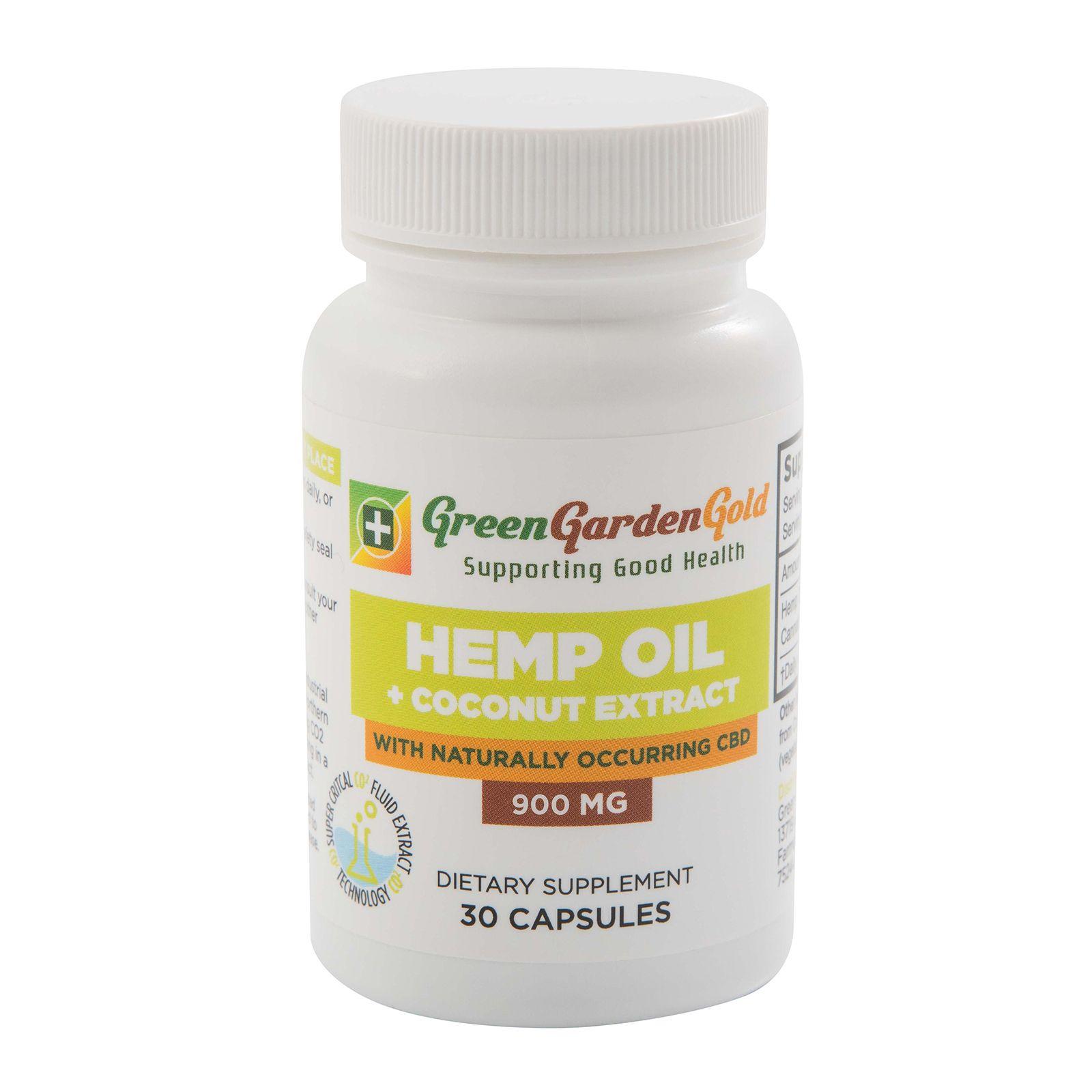 CBD Oil Full-Spectrum 900 mg 30 Capsules