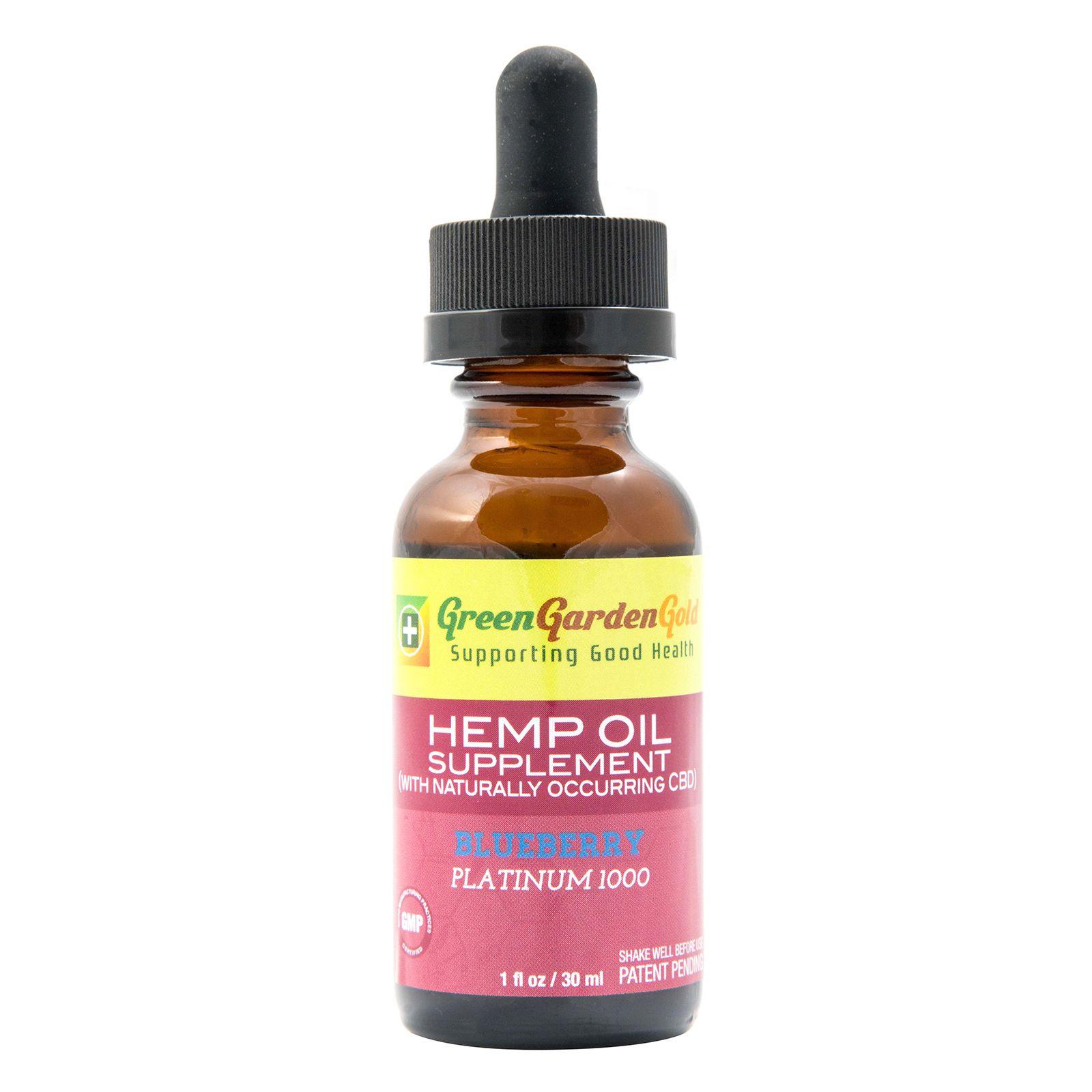 CBD Oil Full-Spectrum Blueberry 1,000 mg 1 fl. oz. (30 mL)