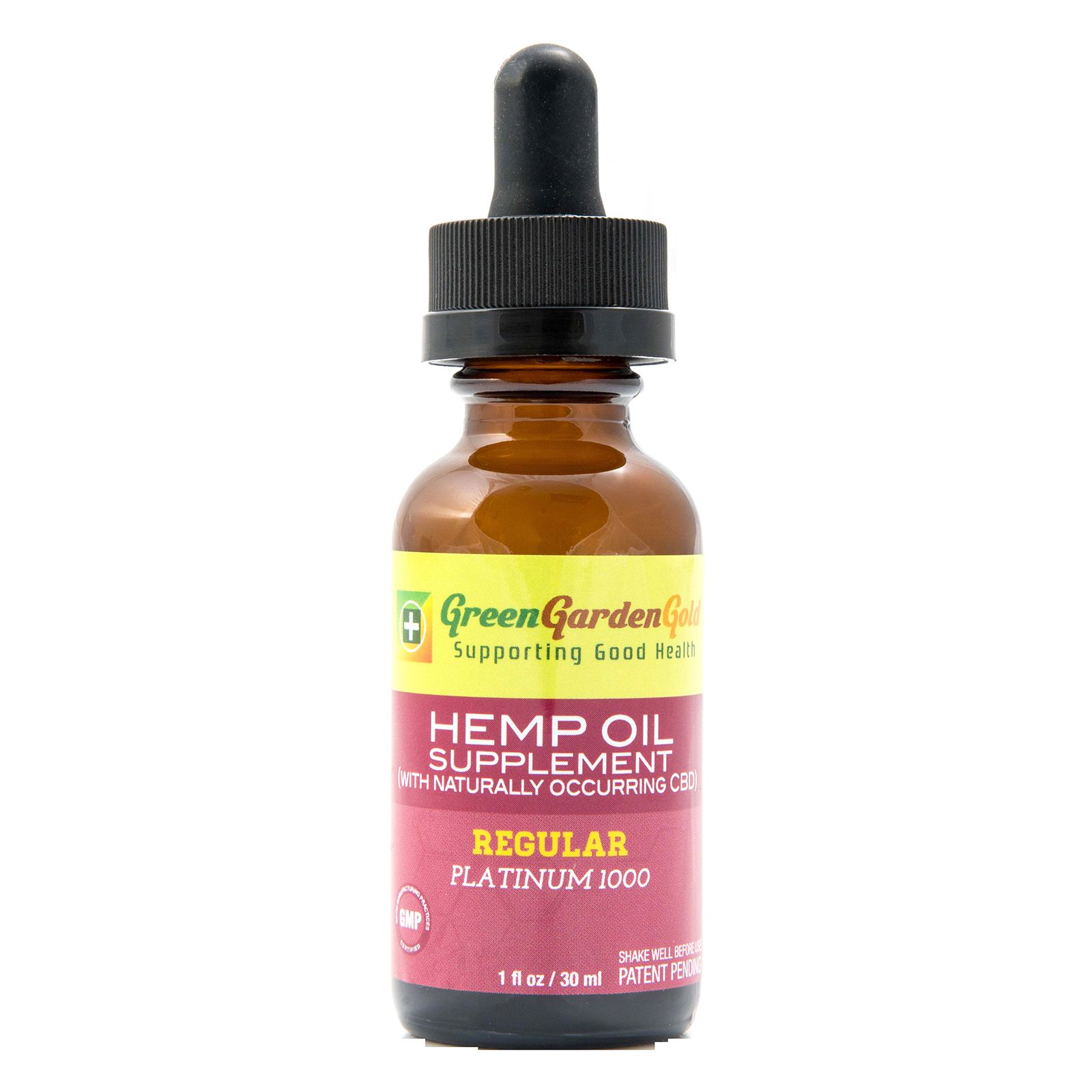 CBD Oil Full-Spectrum Natural Flavor 1,000 mg 1 fl. oz. (30 mL)