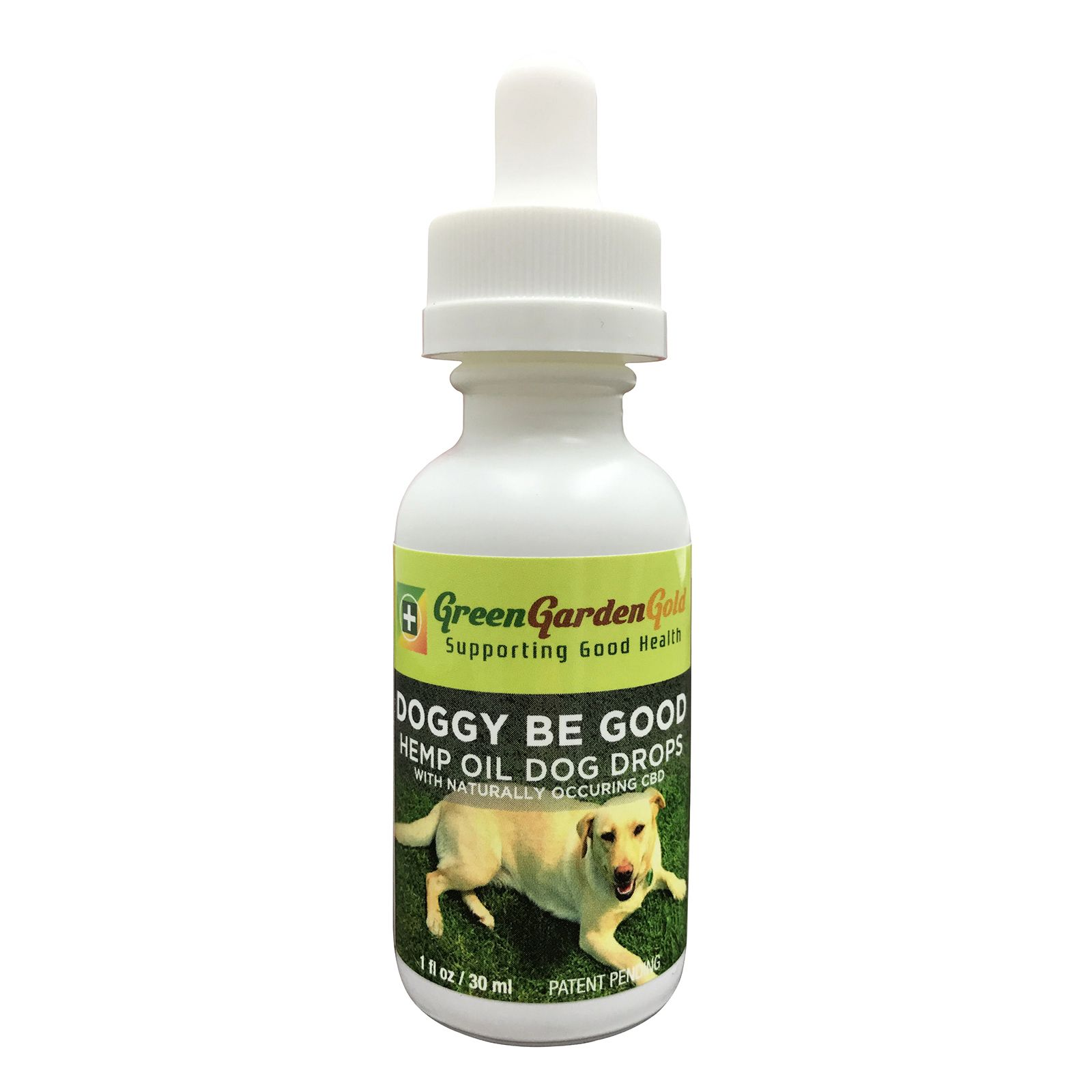 Doggie Be Good Hemp Extract CBD Oil Natural Flavor 180 mg 1 fl. oz. (30 mL)