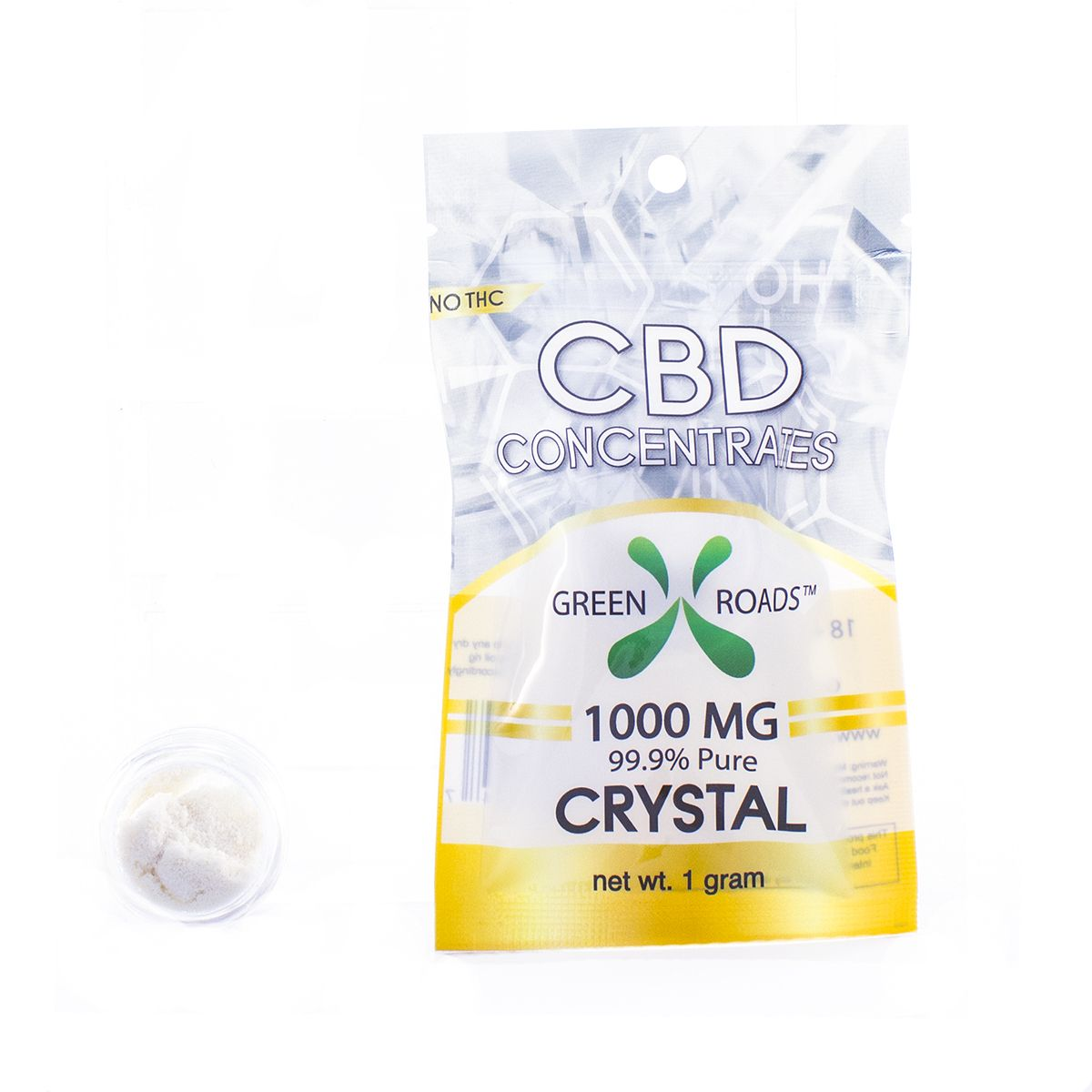 CBD Concentrates Crystal Natural Flavor 1,000 mg 1 g