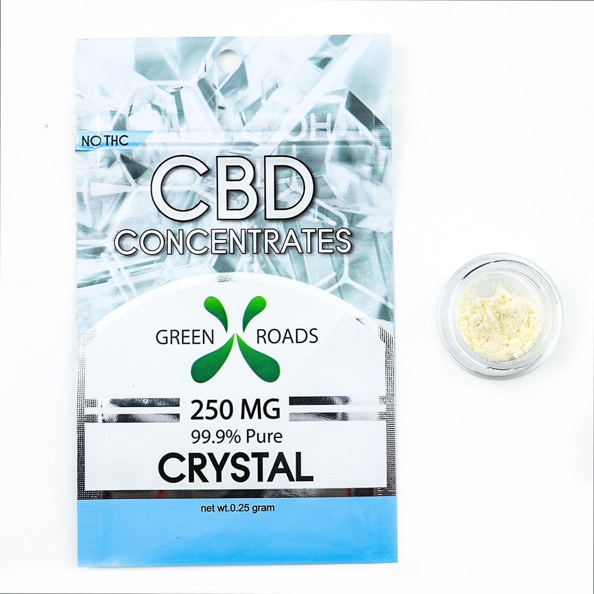 CBD Concentrates Crystal Natural Flavor 250 mg 0.25 g