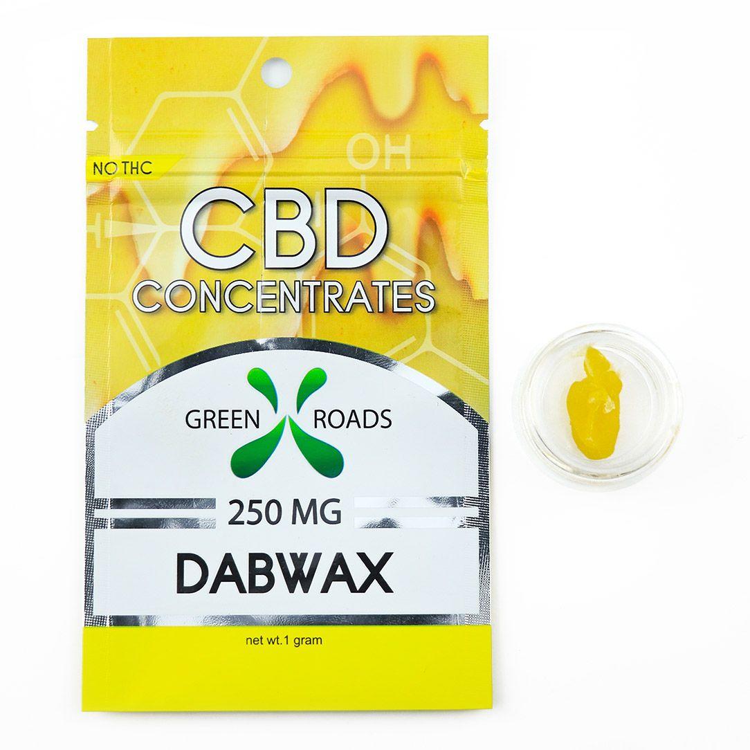 CBD Concentrates Dab Wax Natural Flavor 250 mg 1 g