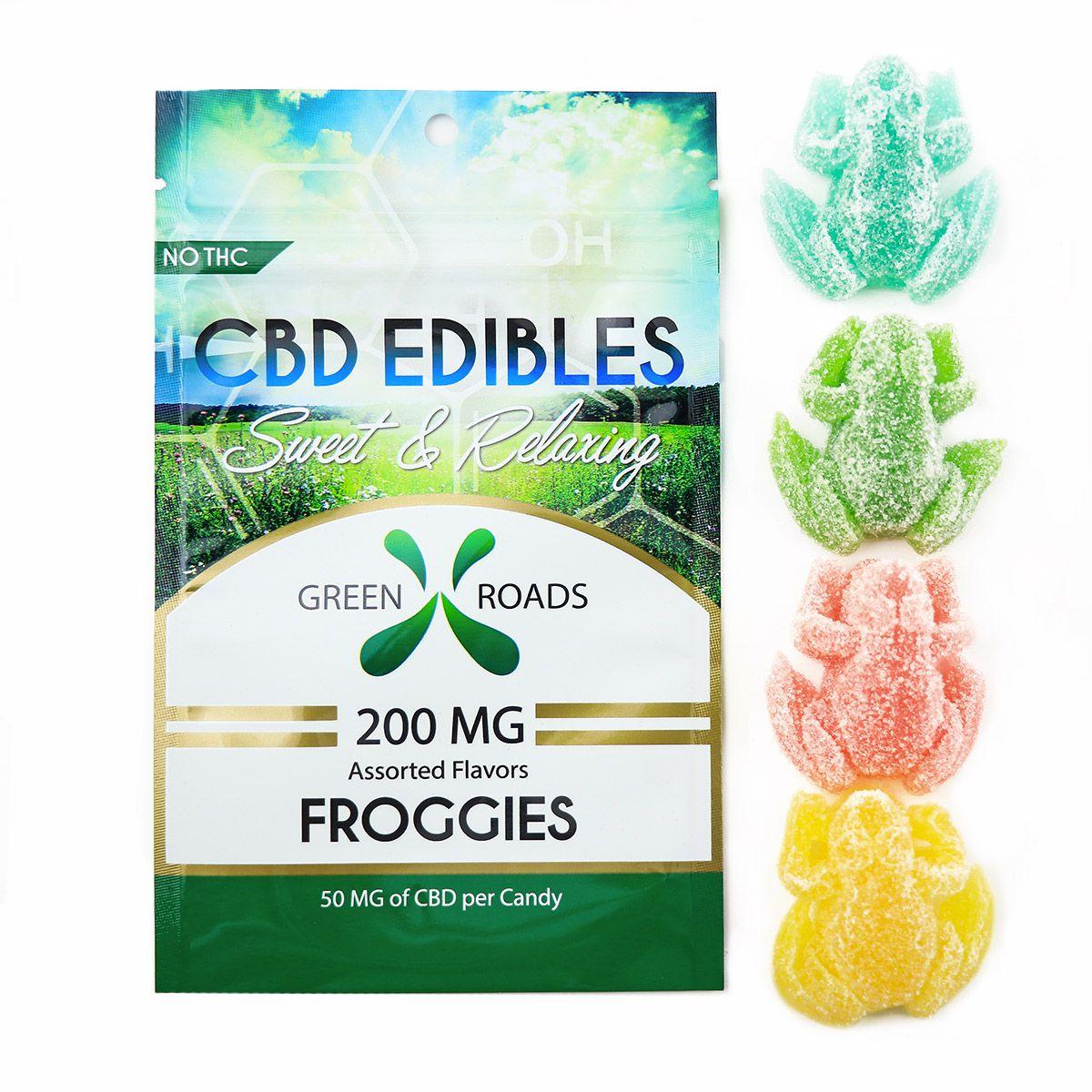 CBD Gummy Froggies Assorted Flavors 200 mg 4 Gummies