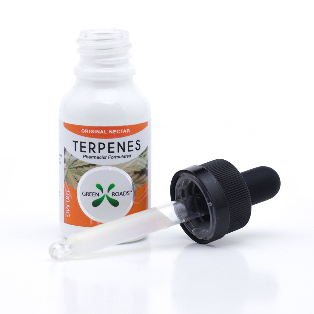CBD Oil with Infused Terpenes (Sublingual + Vapeable) Nectar 100 mg 0.5 fl. oz. (15 mL)