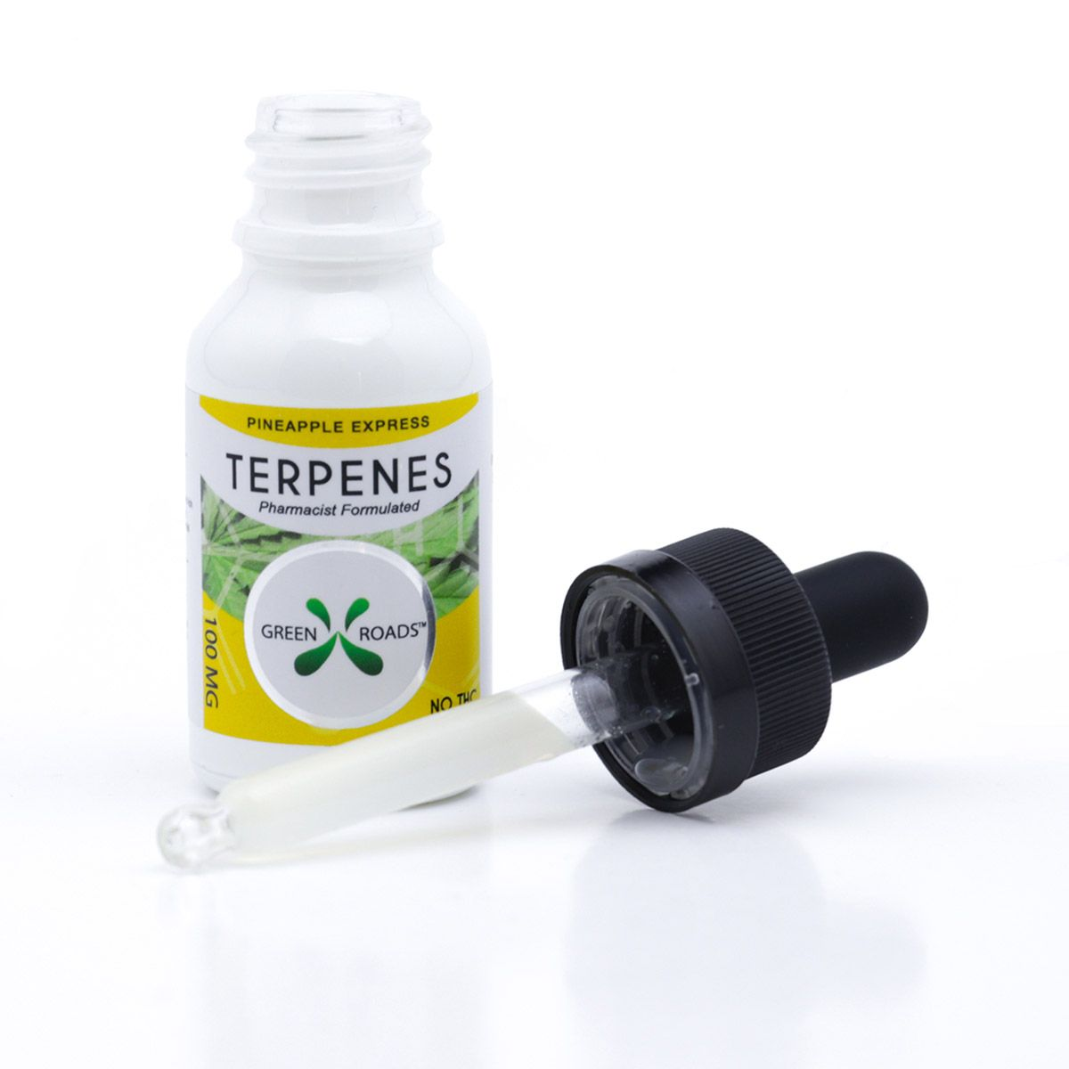 CBD Oil with Infused Terpenes (Sublingual + Vapeable) Pineapple Express 100 mg 0.5 fl. oz. (15 mL)