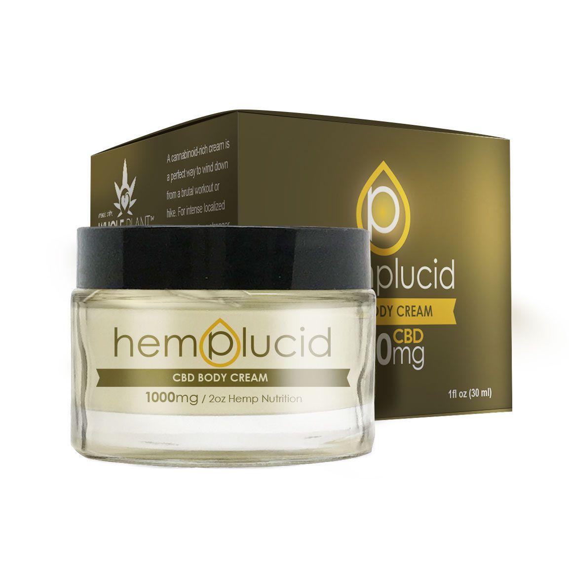 CBD Body Butter Hemp 1,000 mg 2 fl. oz. (59 mL)