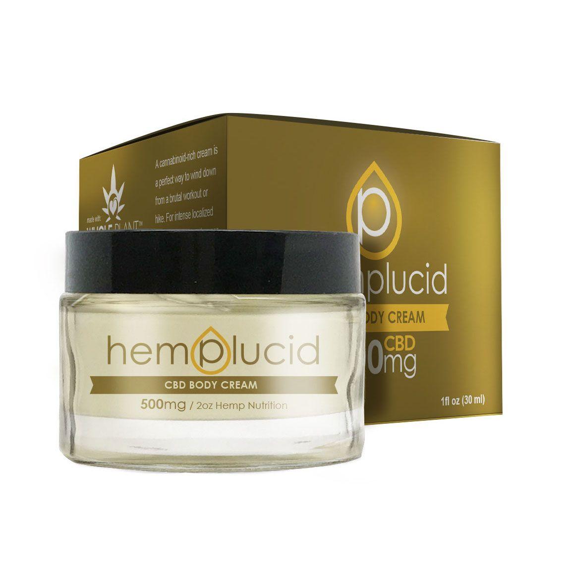 CBD Body Butter Hemp 500 mg 2 fl. oz. (59 mL)