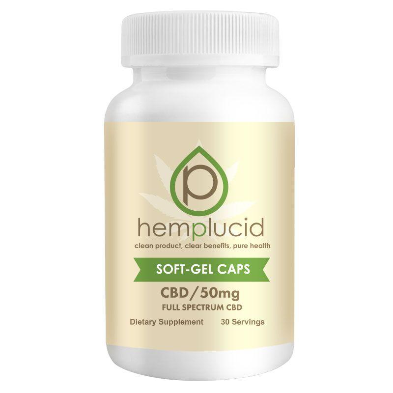 CBD Oil Natural Flavor 1,500 mg 30 Softgels