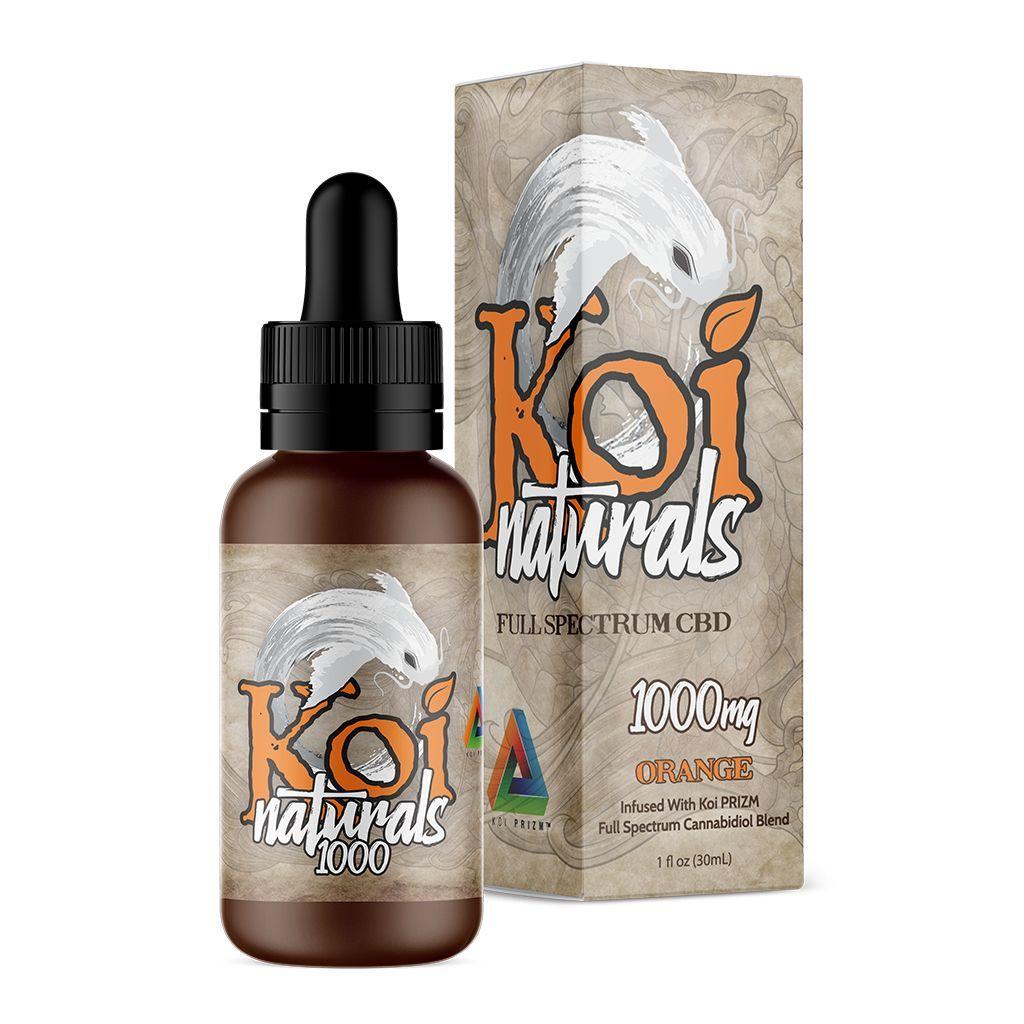 Koi PRIZM™ Full-Spectrum CBD Blend Orange 1,000 mg 1 fl. oz. (30 mL)