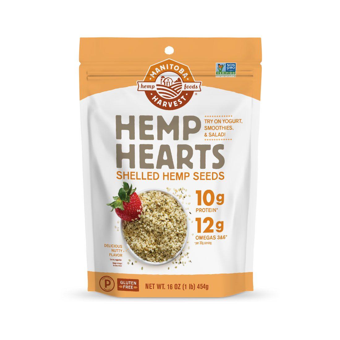Hemp Hearts (Raw Shelled) Hemp Seeds 16 oz. (454 g)