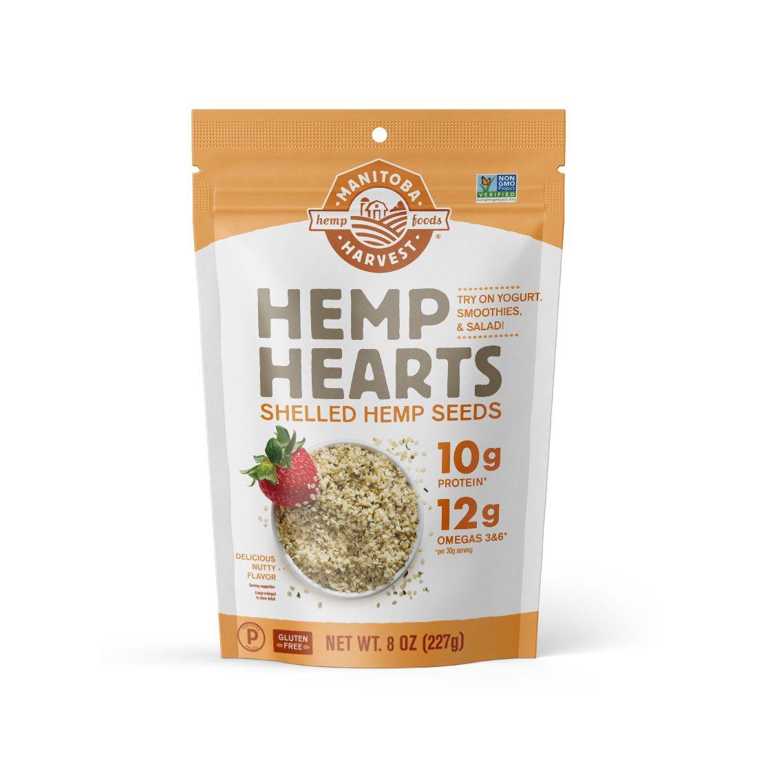 Hemp Hearts (Raw Shelled) Hemp Seeds 8 oz. (227 g)
