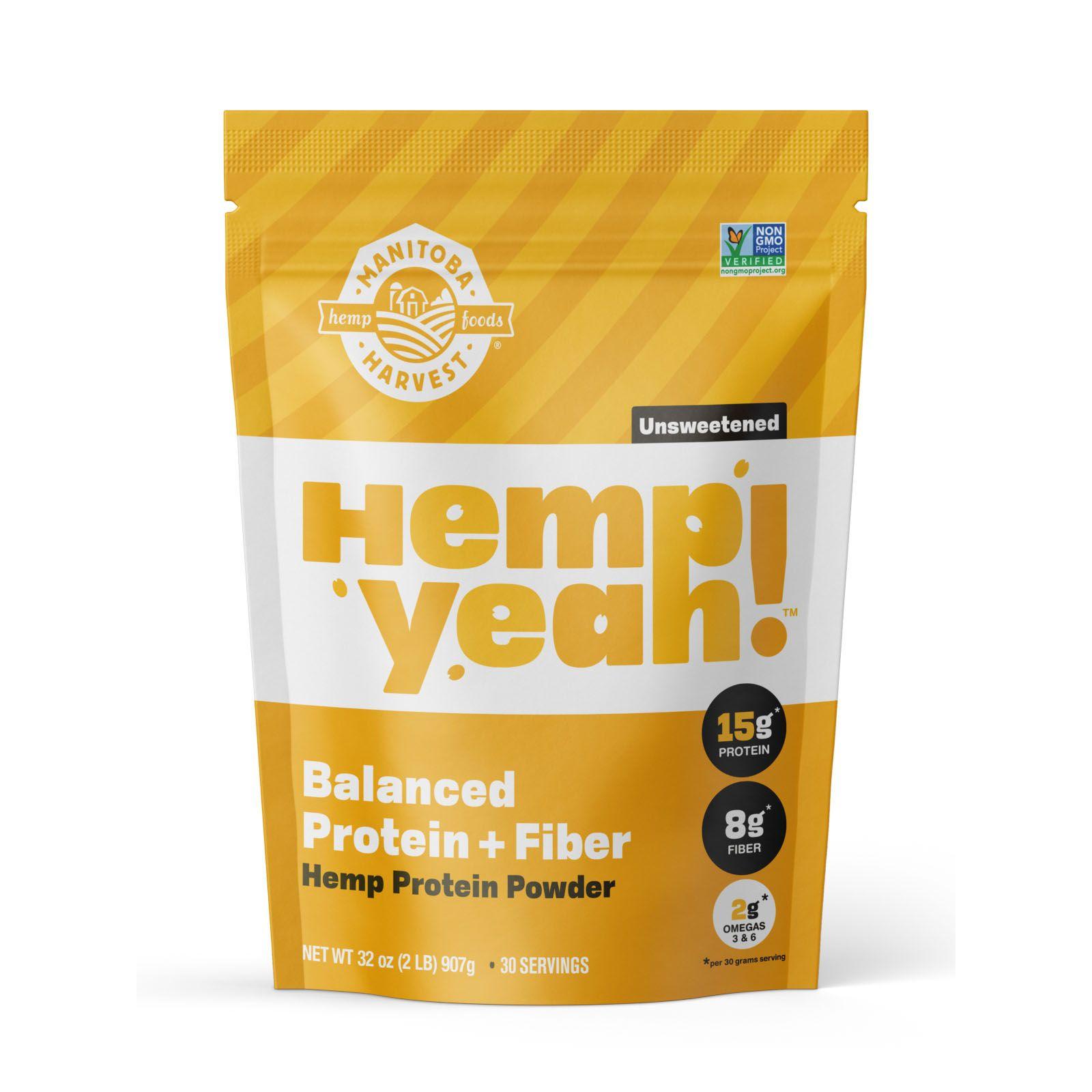 Hemp Yeah! Balanced Protein + Fiber Unsweetened 32 oz. (907 g)