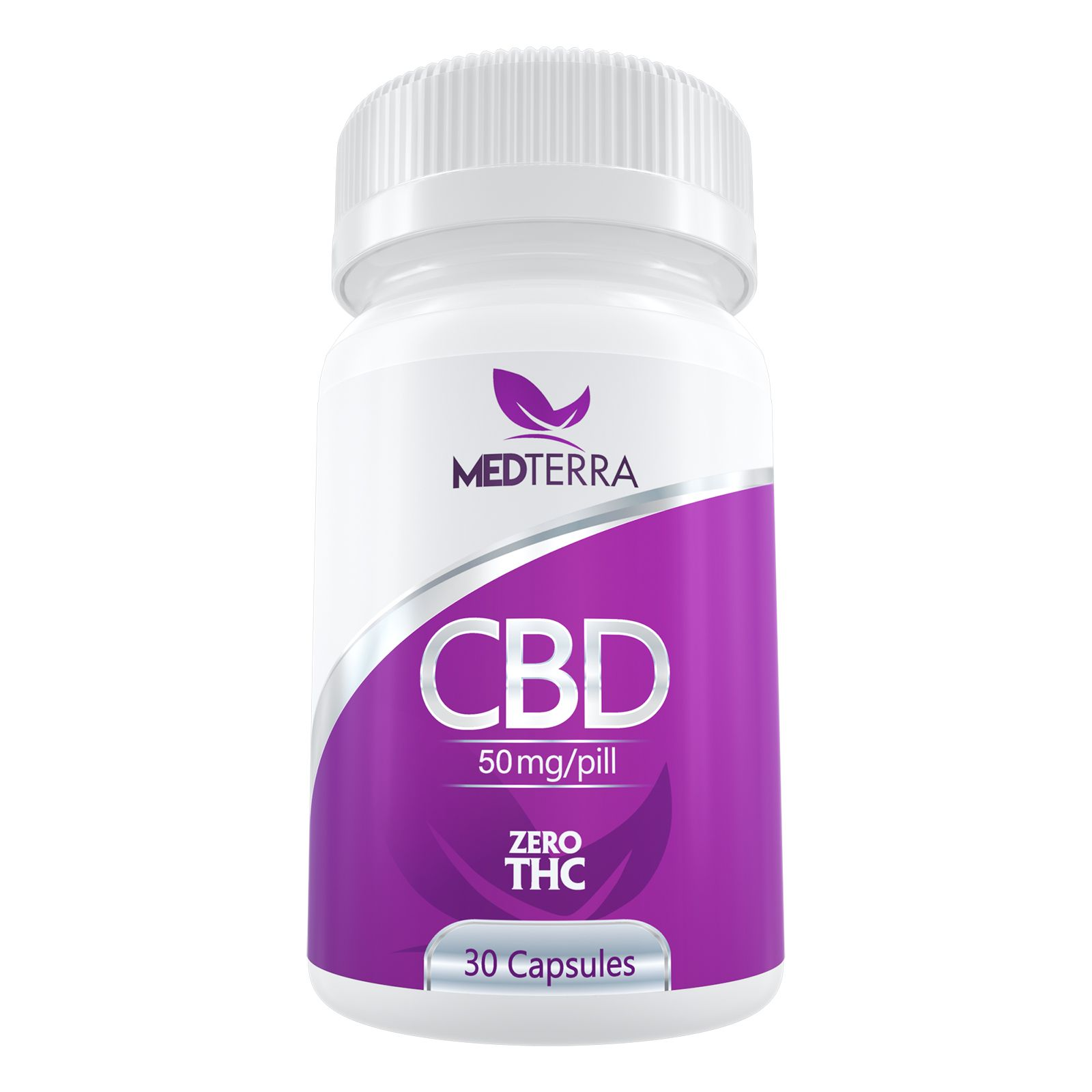 CBD Oil 50 mg 30 Capsules