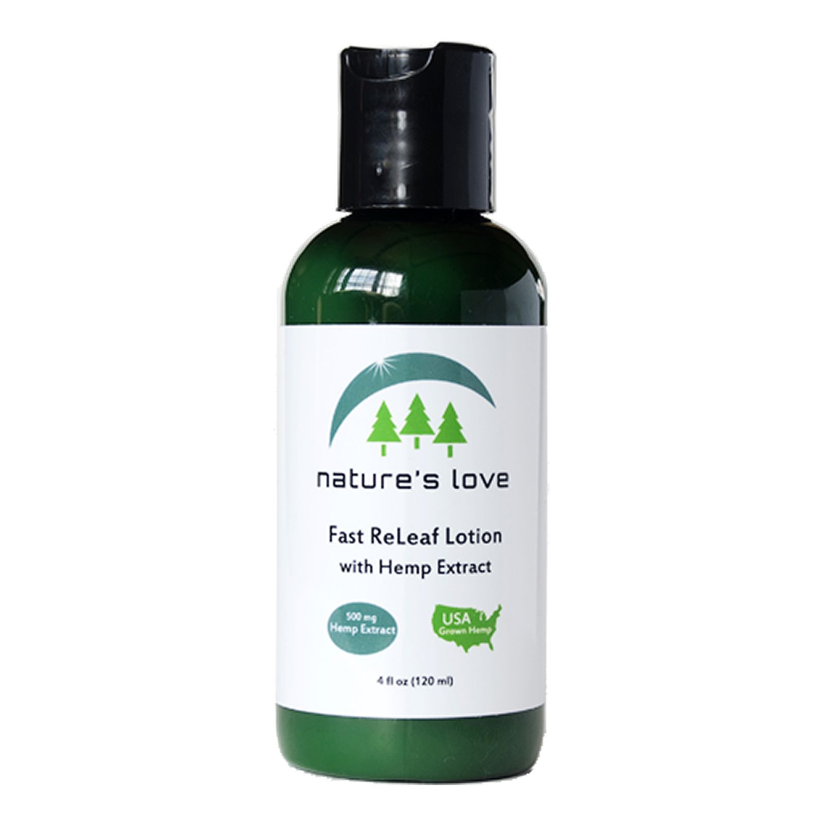 Fast ReLeaf Full-Spectrum Hemp Extract Lotion Lemongrass 450 mg 4 fl. oz. (118 mL)