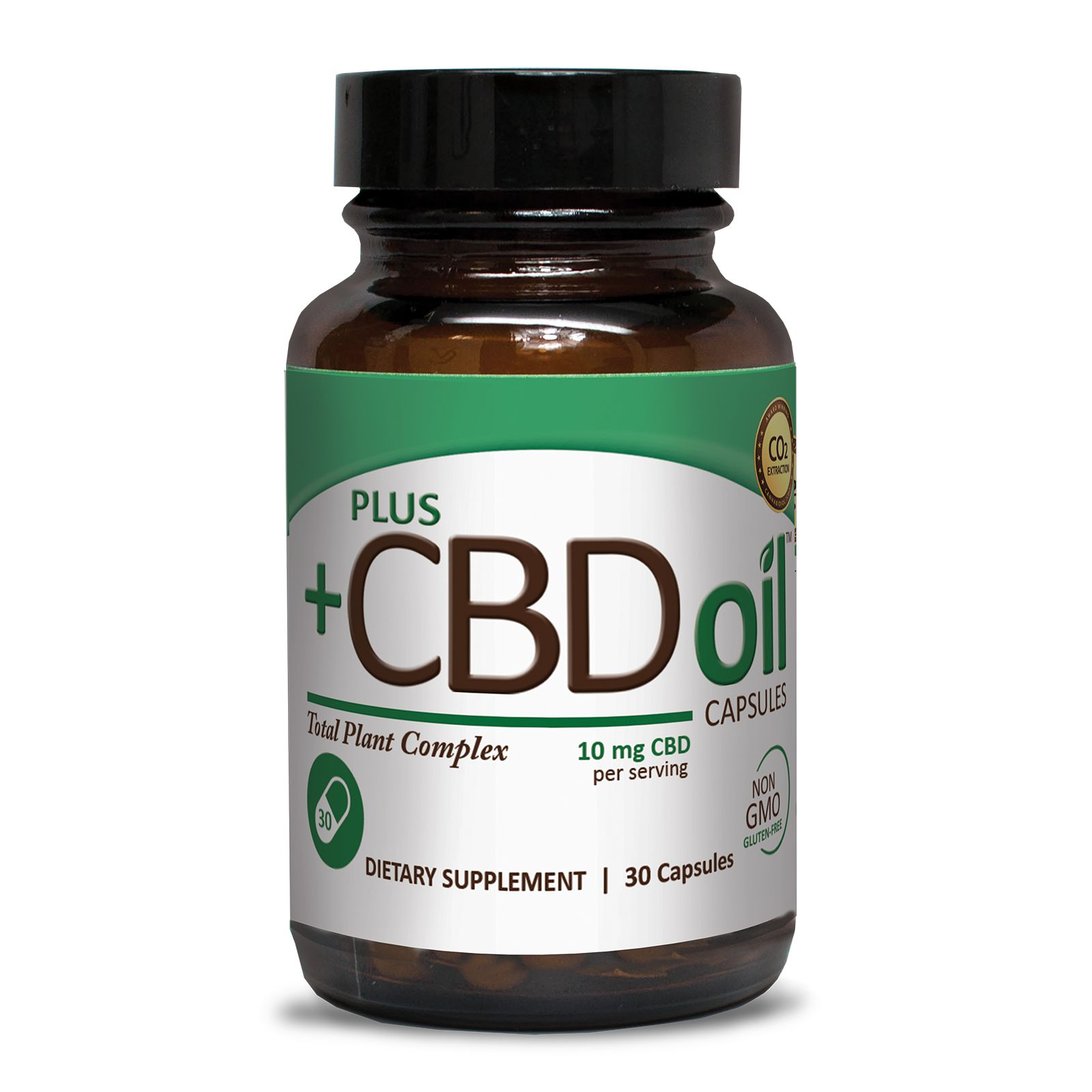 CBD Oil 300 mg 30 Vegetarian Capsules