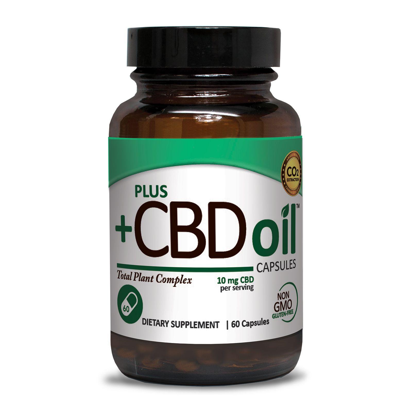 CBD Oil 600 mg 60 Vegetarian Capsules