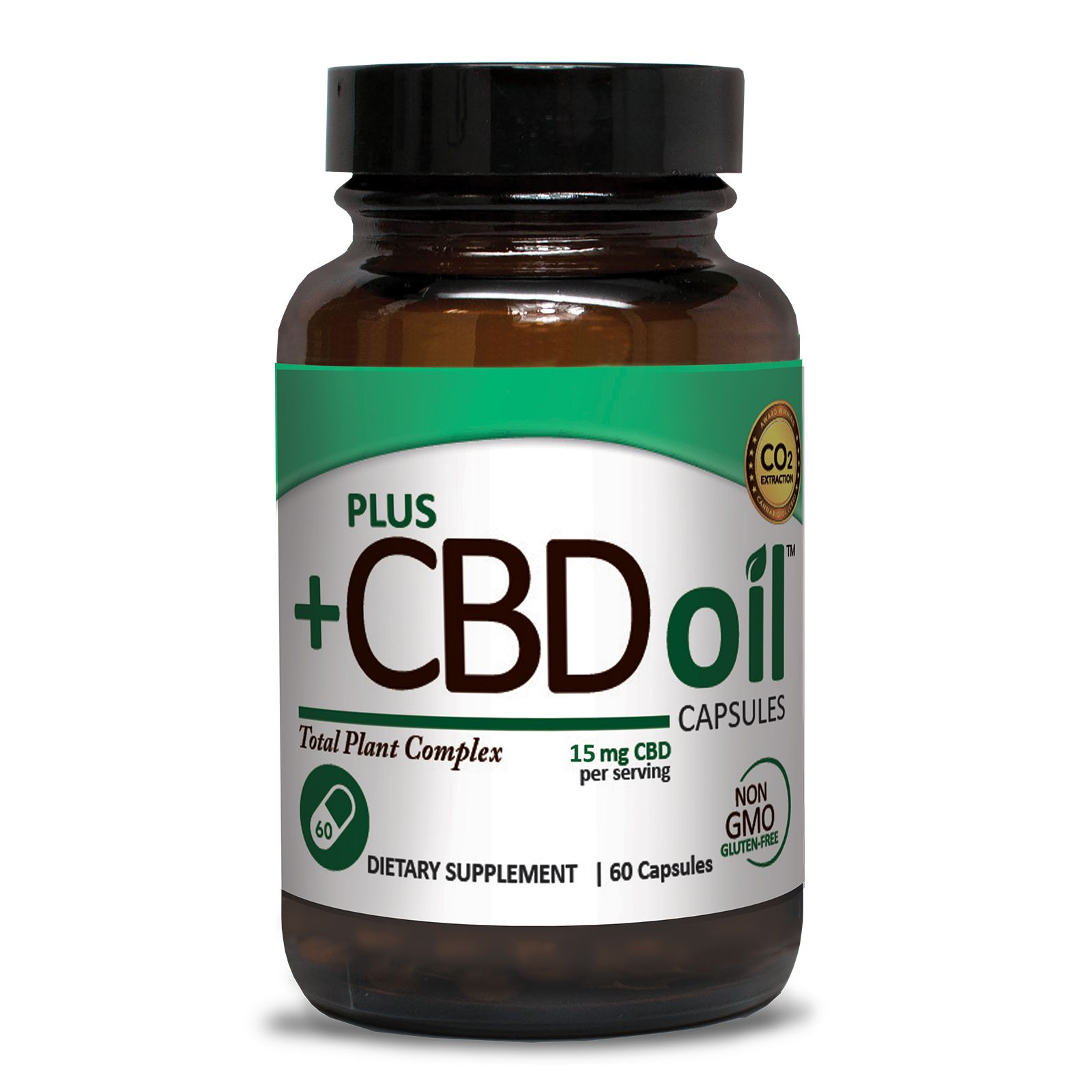 CBD Oil 750 mg 60 Vegetarian Capsules