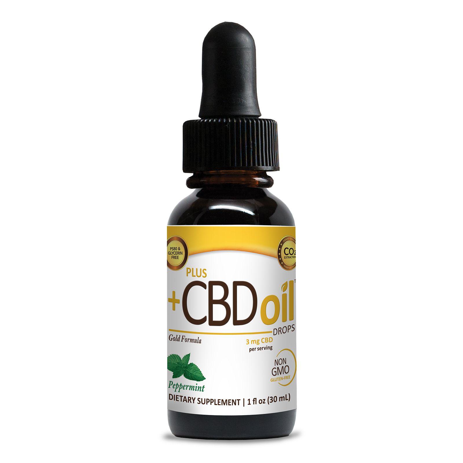 CBD Oil Peppermint 250 mg 1 fl. oz. (30 mL)